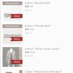 Other - 5 items to add to bundle.